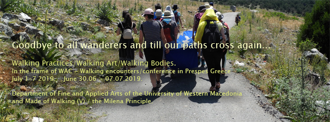 Made Of Walking - the Milena principle